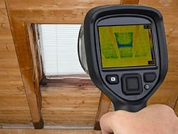 Infrared imaging leak detection in Orlando, FL